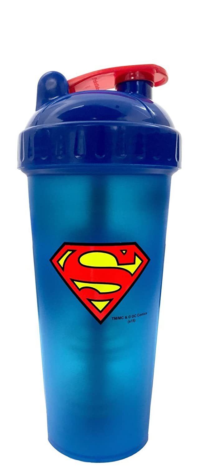 Perfect Shaker Hero Series Superman Shaker Cup, 28 oz (800ml) by Perfect Impressions