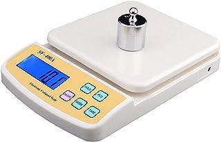 ميزان حساس الالكتروني يزن من غرام واحد إلى 10 كيلوجرام رقمي شاشة lcd يستخدم لكافة الاغراض المنزلية والمجوهرات الخ يعمل بال...