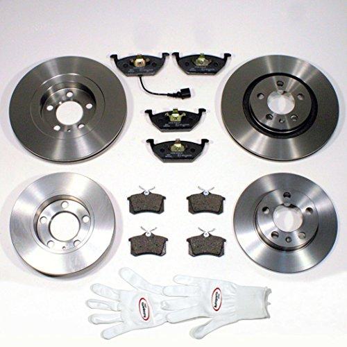 Autoparts-Online Set 60007646 4 Bremsscheiben/Bremsen + 8 Bremsbeläge vorne + hinten