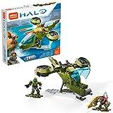 Mega Construx Halo UNSC Hornet Blitz Micro Action Figure Building Set