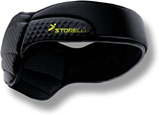Storelli ExoShield Head Guard |Soccer Equipment & Head Injury Prevention |Ultra-Light Padded Headband|Sweat-Wicking|Black