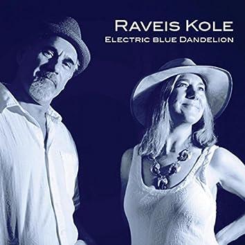 Electric Blue Dandelion