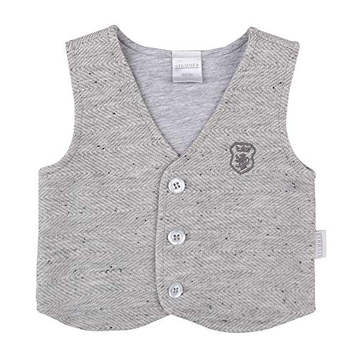 STUMMER Celebration baby jongens vest, grijs