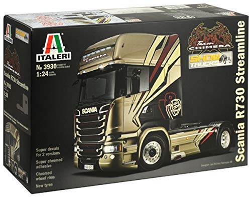 Italeri 3930 1:24 Scania R730 Streamline Chimera
