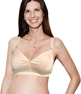The Dairy Fairy Rose Handsfree Pumping & Nursing Bra, Nurse, Pump or Both, Wireless, Fits All Pumps