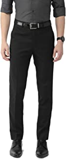 American-Elm Men's Slim Fit Formal Trousers