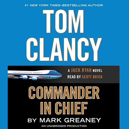 Tom Clancy Commander-in-Chief cover art