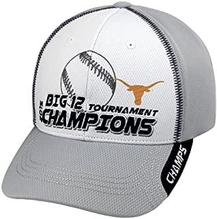 Top of the World Texas Longhorns 2015 Big 12 Baseball Tournament Champions Locker Room Hat Cap