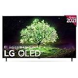 LG OLED OLED77A1-ALEXA 2021-Smart TV 4K UHD 195 cm (77') con Inteligencia Artificial, Procesador Inteligente α7 Gen4, Deep Learning, 100% HDR, Dolby ATMOS, HDMI 2.0, USB 2.0, Bluetooth 5.0, WiFi