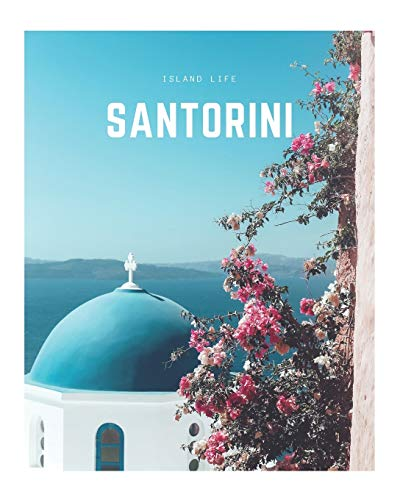 Santorini: A Decorative Book | Perfect for Coffee Tables, Bookshelves, Interior Design & Home Staging (Island Life Book Set)