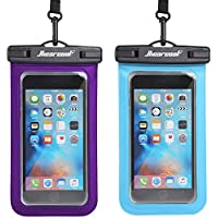 2-Pack Hiearcool Universal Waterproof Phone Pouch