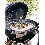 Weber 57cmMaster-Touch Charcoal Kettle Barbecue BBQ - Black Porcelain Enamelled Steel Bowl