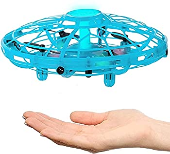 Hand Operated Drone for Kids Adults & Teenagers - Easy to Play with Hands Free Flying Toy - RC mini UFO Game - Best Unique Birthday Present Idea 2021 for Boys Girls Teens & Tweens - Top Indoor Gift