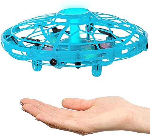 Hand Operated Drone for Kids, Adults & Teenagers - Easy to Play with Hands Free Flying Toy - RC mini UFO Game - Best Unique Birthday Present Idea 2021 for Boys, Girls, Teens & Tweens - Top Indoor Gift