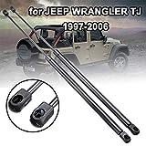 LSYBB 2 Piezas portón Trasero Maletero Resorte de Gas Campana Elevador amortiguadores Struts Brazo Barras Soporte para Jeep Wrangler TJ 1997-2006