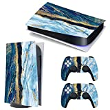 3CTOP High Qulaity Sticker Skin Protector Decals for PS5 Playstation 5 Console and 2 Controllers 8#