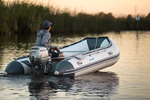 Newport Vessels 11ft 9in Baja Inflatable Dinghy Boat Transom Sport Tender - 20 Horsepower USCG Rated