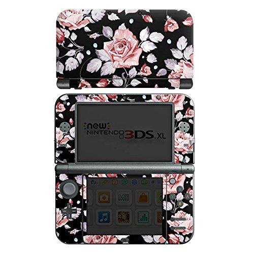 DeinDesign Skin kompatibel mit Nintendo New 3DS XL Folie Sticker Rose Blume Pattern