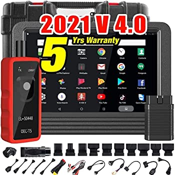 Launch X431 V PRO  2021 V 4.0  Bi-Directional Scanner Full Systems Diagnostic Scan Tool 31+ Reset Functions Key Programming Variant Coding AutoAuth for FCA SGW 2 Years Update-EL-50448 TPMS Tool