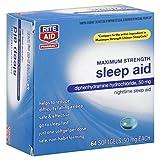 Rite Aid Pharmacy Sleep Aid, Maximum Strength, Softgels, 64 softgels