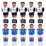 BESPORTBLE 10 Piezas de Futbolín de Repuesto para Hombre Jugador de Mesa de Fútbol Piezas de Minimuñeco Estatuilla Juego Juguetes para Juegos de Mesa Casa de Muñecas para Niños