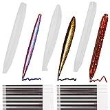 Olgaa 3 stampi a forma di penna in resina epossidica per fusione a sfera, in silicone, con 108 ricariche per penne fai da te, artigianato, studenti e materiale scolastico