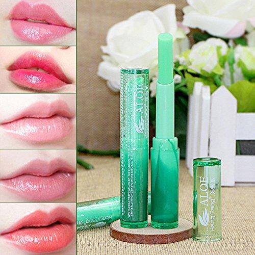 Make-Up Lippenstift Temperatur Farbwechsel Langlebig Feuchtigkeitscreme Lipstick Lipgloss (1.7g,...