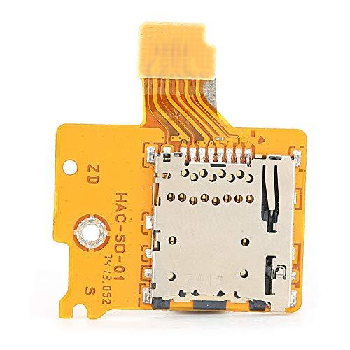 Ranura para tarjeta de memoria, Consola Nintendo switch NS Ranura para tarjeta de memoria, Ranura para tarjeta de memoria Micro Ranura para tarjeta Lector de tarjetas Reemplazo para la Consola Nintend