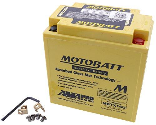 Batterie MOTOBATT für Suzuki VS 1400 Intruder VX51L 1987-1992 [inkl. 7.50 Euro Batteriepfand]