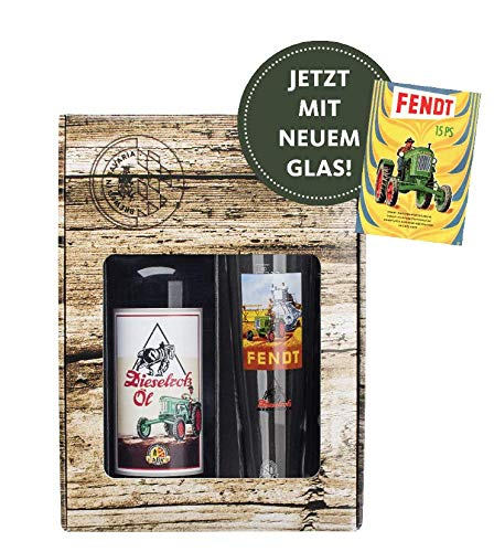 Fendt Dieselross Öl Geschenkkarton 1,0l + Glas