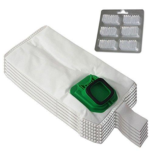 clasificación y comparación Se establecen 6 bolsas (microfibra) para aspiradora + 6 ambientadores Vorwerk Folletto Kobold VK 140,… para casa