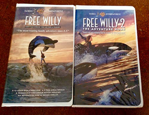 Free Willy/Free Willy 2 2-Pack [VHS]