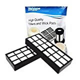 HQRP 2-Pack H13 HEPA Filter Compatible with Eureka HF-7 fits SurfaceMax 300 2976AVZ, Surface Max 200 2977AV Upright Vacuum Cleaners