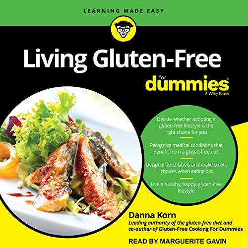 Living Gluten-Free for Dummies, 2nd Edition cover art