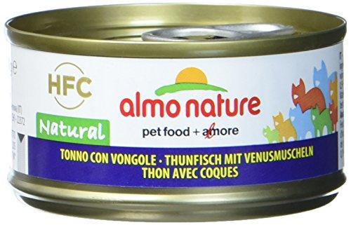 Almo Nature HFC Natural Katzenfutter - Thunfisch mit Venusmuscheln 24x70 g