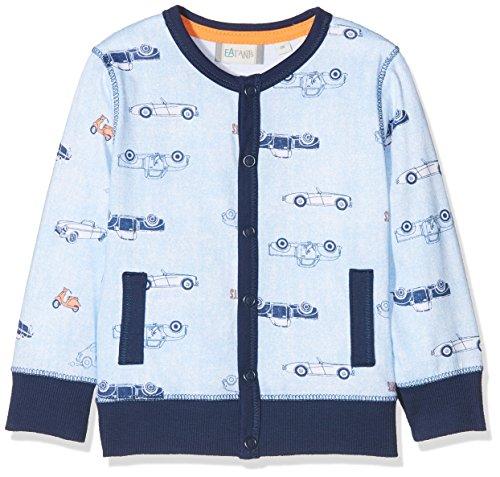 Sanetta Baby-Jungen 114230 Jacke, Blau (Blue Fog 5597), 80