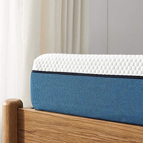 Twin Mattress, Iyee Nature 6 inch Gel Memory Foam Mattress in a Box, Foam Bed Mattress Medium Firm Foam Mattress