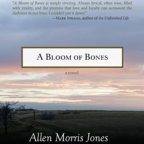 A Bloom of Bones audiobook cover art