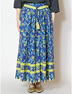 チャイハネ(CAYHANE) 【チャイハネ】更紗風プリントロングスカート