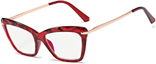 Leesbril met blauw licht, ultralicht, voor dames, voorjaarsschoenen + glazen van hars, verschillende kleuren