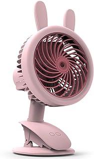 Warmwin Ventilador portátil de nebulización de Agua eléctrico USB Recargable de Mano Mini Ventilador enfriamiento Aire Acondicionado humidificador, Exterior Verde