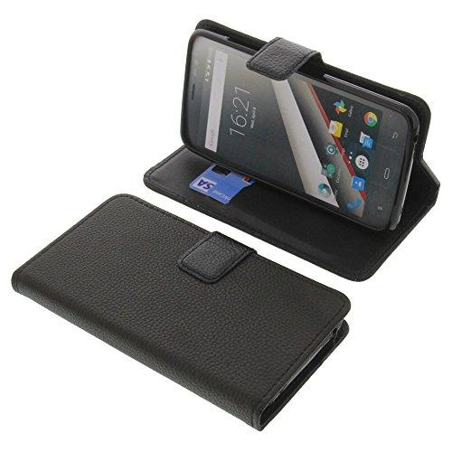 foto-kontor Tasche für Phicomm Clue L Book Style schwarz Schutz Hülle Buch