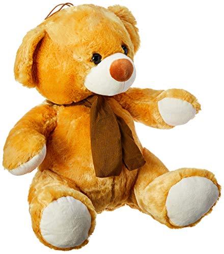 Urso Alaranjado Comcachecol 40Cm, Foffylandia, Amarelo
