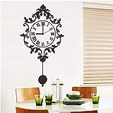 GVC DIY Reloj Reloj de Pared Reloj Decorativo publicado Moda Superior Nuevo Reloj Moderno Pegatinas de Pared