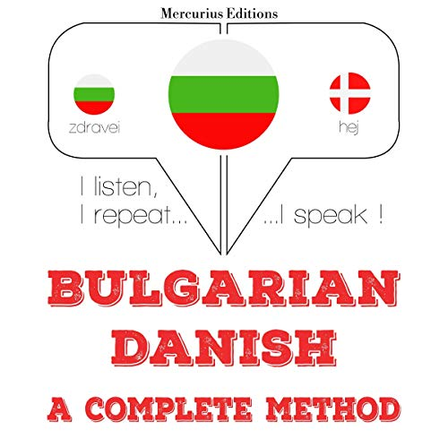 Bulgarian - Danish. A complete method cover art