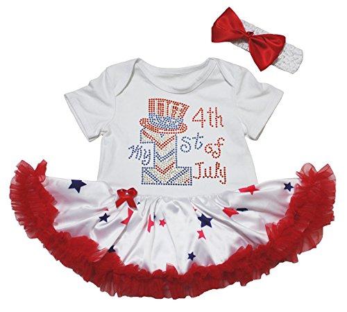 Petitebelle - Body - Bébé (fille) 0 à 24 mois blanc blanc 0-3 mois - blanc - taille unique