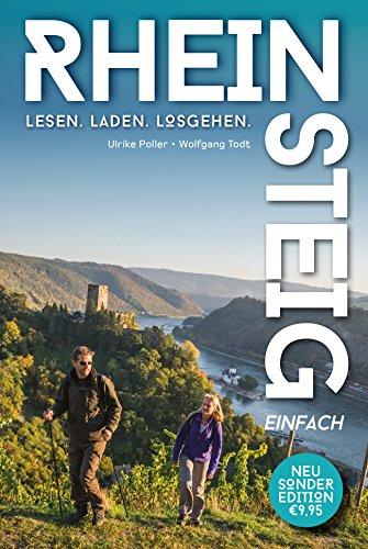 Rheinsteig einfach - Pocket-Wanderführer zum kleinen Preis: Der günstige Pocketführer mit allen Infos zu 20 Rheinsteig-Etappen.