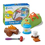 Learning Resources New Sprouts Camp Out! Imaginative Play, Camping Toy, Outdoor Toy Food, 11 Pieces, Ages 2+