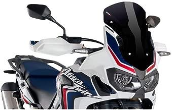 Puig 16-18 Honda CRF1000L Racing Windscreen (290mm Tall) (Black)