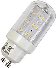 LED-lampen 4W GU10 3000K warmwit 230V 400lm helder, cilinder vorm, ruimtelicht, 270 graden, Maxiflood, vervangt 40W haloge...